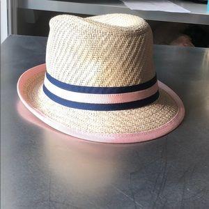 J. Crew NWOT straw Havana hat